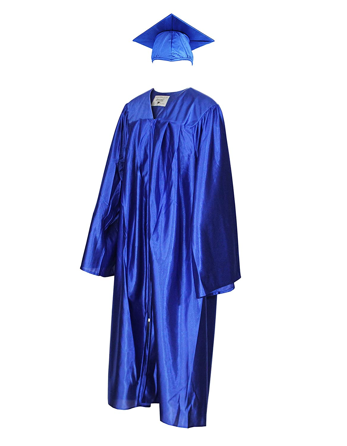 Amazon.com: Shiny Graduation Cap and Gown (Adult\'s Size): Clothing