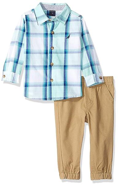 Amazon.com: Nautica Set (KHQ) - Conjunto de pantalones para ...