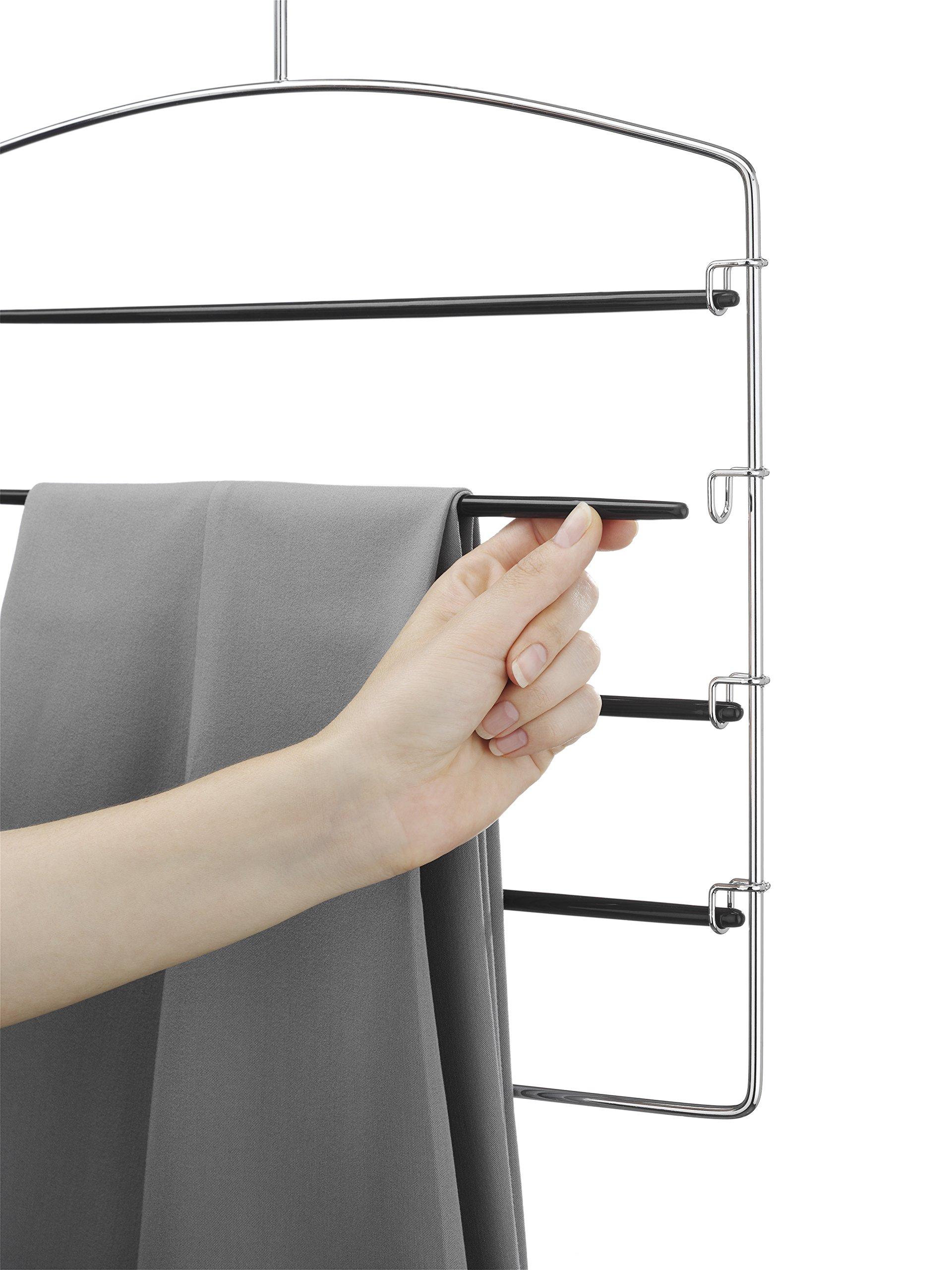 Clothes Hanger Rack Pant Rail Storage Rod Organizer Door