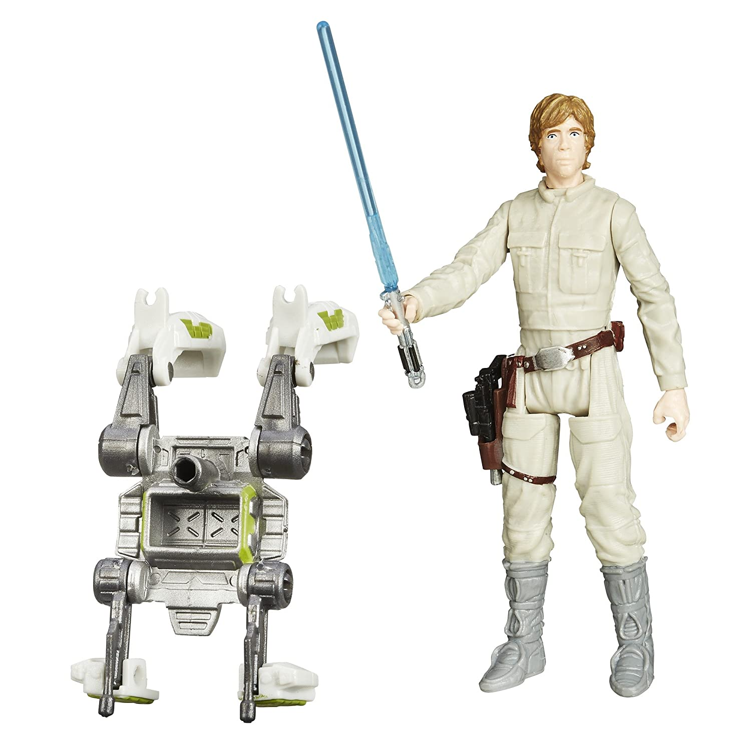 STAR WARS - Episodio V - Figura Forest Mission Luke Skywalker, 9.5cm (B3448)