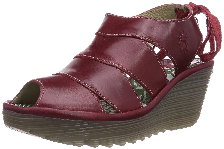 Fly London Yown - Zuecos de cuero para mujer: Amazon.es: Zapatos y complementos