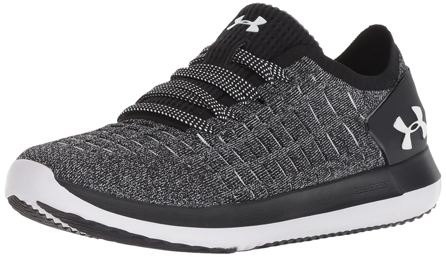 Under Armour Women's Slingride 2 Sneaker B076S53KKP 10.5 M US|Black (004)/Black