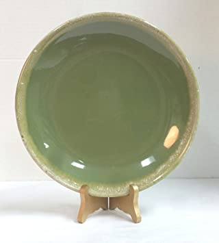 Vintage Hull Oven-Proof 10.5 Inch Dinner Plate Green Drip & Amazon.com | Vintage Hull Oven-Proof 10.5 Inch Dinner Plate Green ...