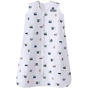 Halo Sleepsack Cotton Wearable Blanket, Nautical Tug Boats, X-Large