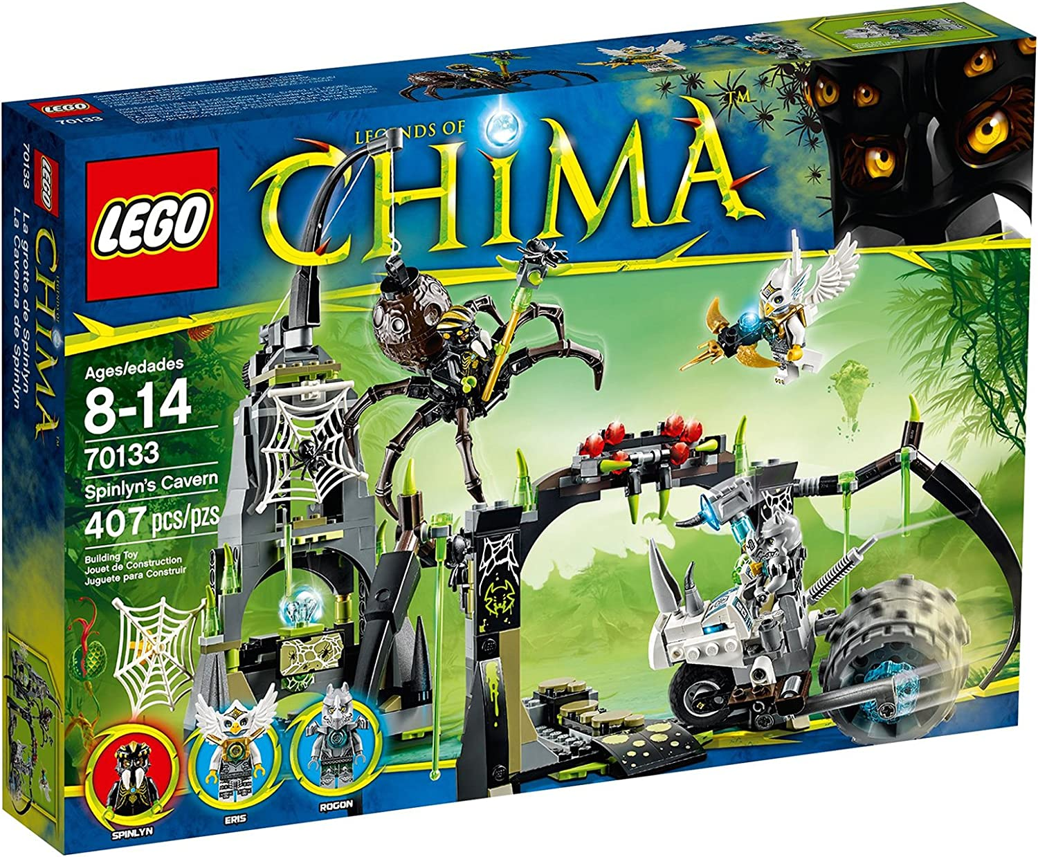 LEGO Chima Spinlyn's Cavern 70133