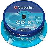 Verbatim CD-R 52X Extra Protect. 700MB 25 Pack, 43432 (25 Pack)