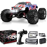 1:16 Scale Large RC Cars 36+ kmh Speed - Boys Remote Control Car 4x4 Off Road Monster Truck Electric - All Terrain Waterproof
