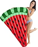 BigMouth Inc Giant Inflatable Watermelon Slice Pool Float, Patch Kit Included, Durable Swim Tube