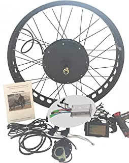 81bqbheQOeL._AC_UL320_SR240320_ amazon com electric bicycle conversion kit for front wheel hub  at aneh.co