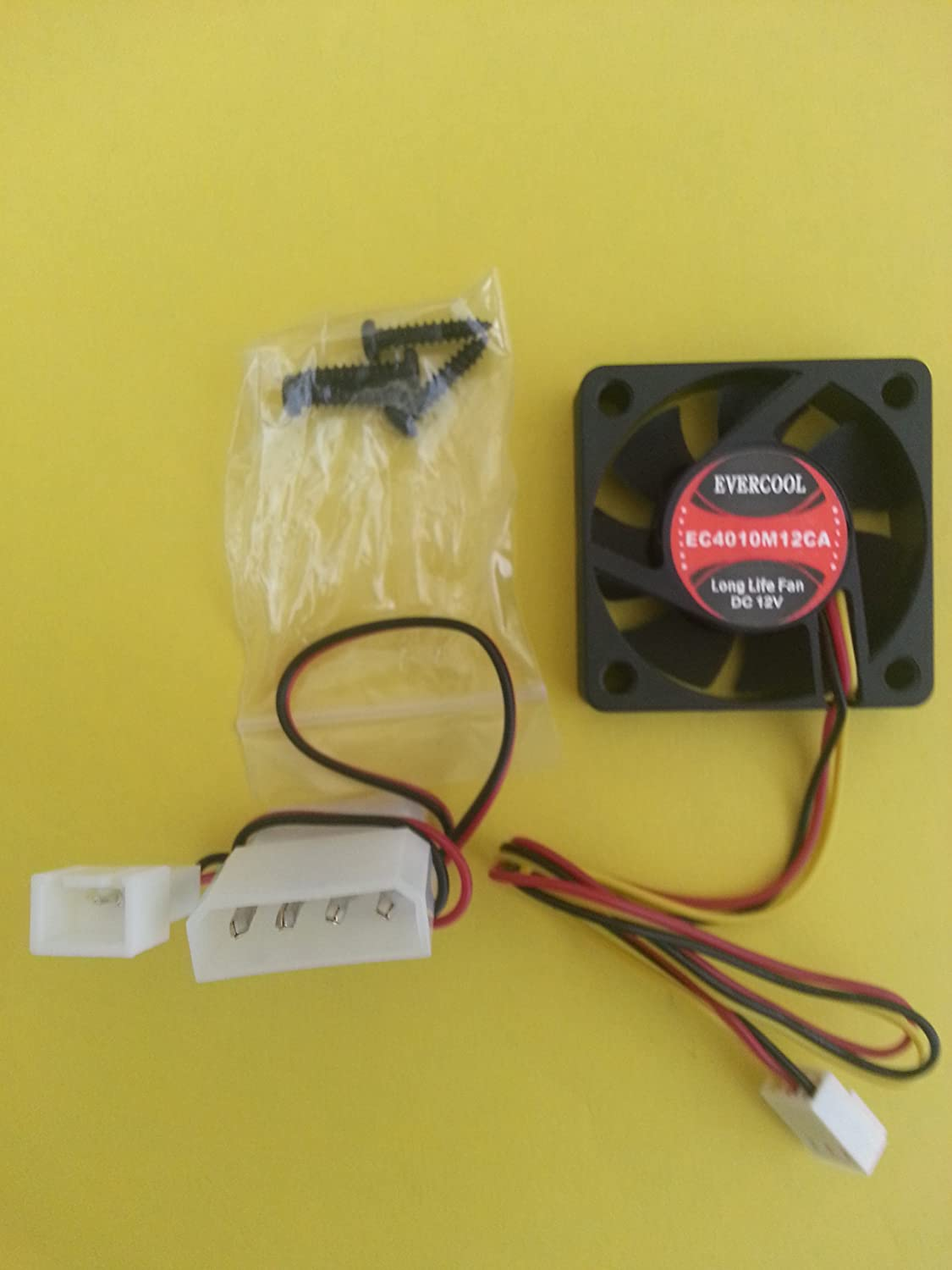 Case Fan 40mm X 10mm Dc 12v Bb 3 Pin Computers Foxconn Wire Diagram Accessories