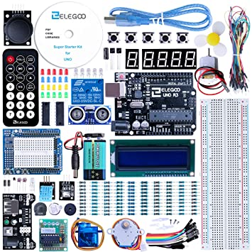 Elegoo uno project super starter kit with tutorial for arduino elegoo uno project super starter kit with tutorial for arduino solutioingenieria Gallery