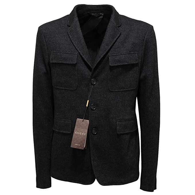9927L giacca uomo grigia GUCCI giacche jackets coats men [48 ...