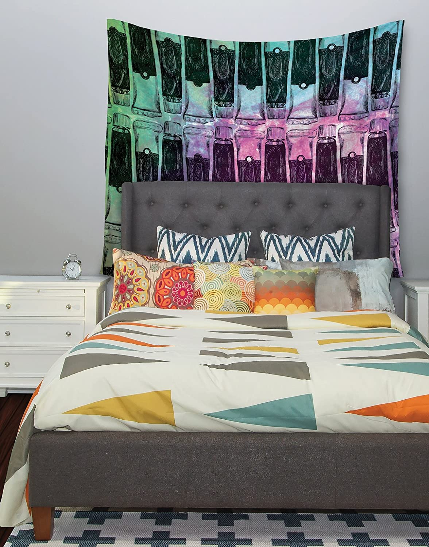 68 X 80 Kess InHouse Theresa Giolzetti Paint Tubes II Wall Tapestry