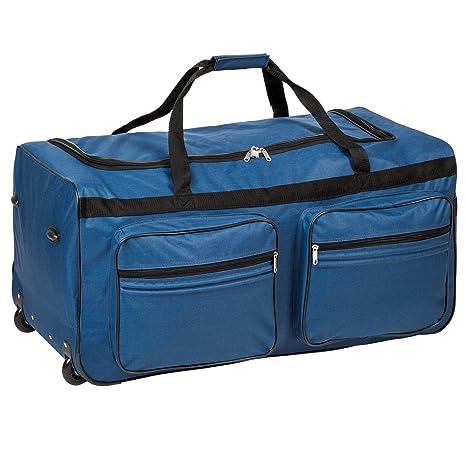 cbd202e56dbba TecTake Trolley borsa da viaggio XXL borsone sportivo