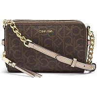 Calvin Klein Marybelle Signature Double Zip Organizational Crossbody