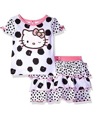 2f2a6dcb5 Hello Kitty Girls' T-Shirt and Skirt Set