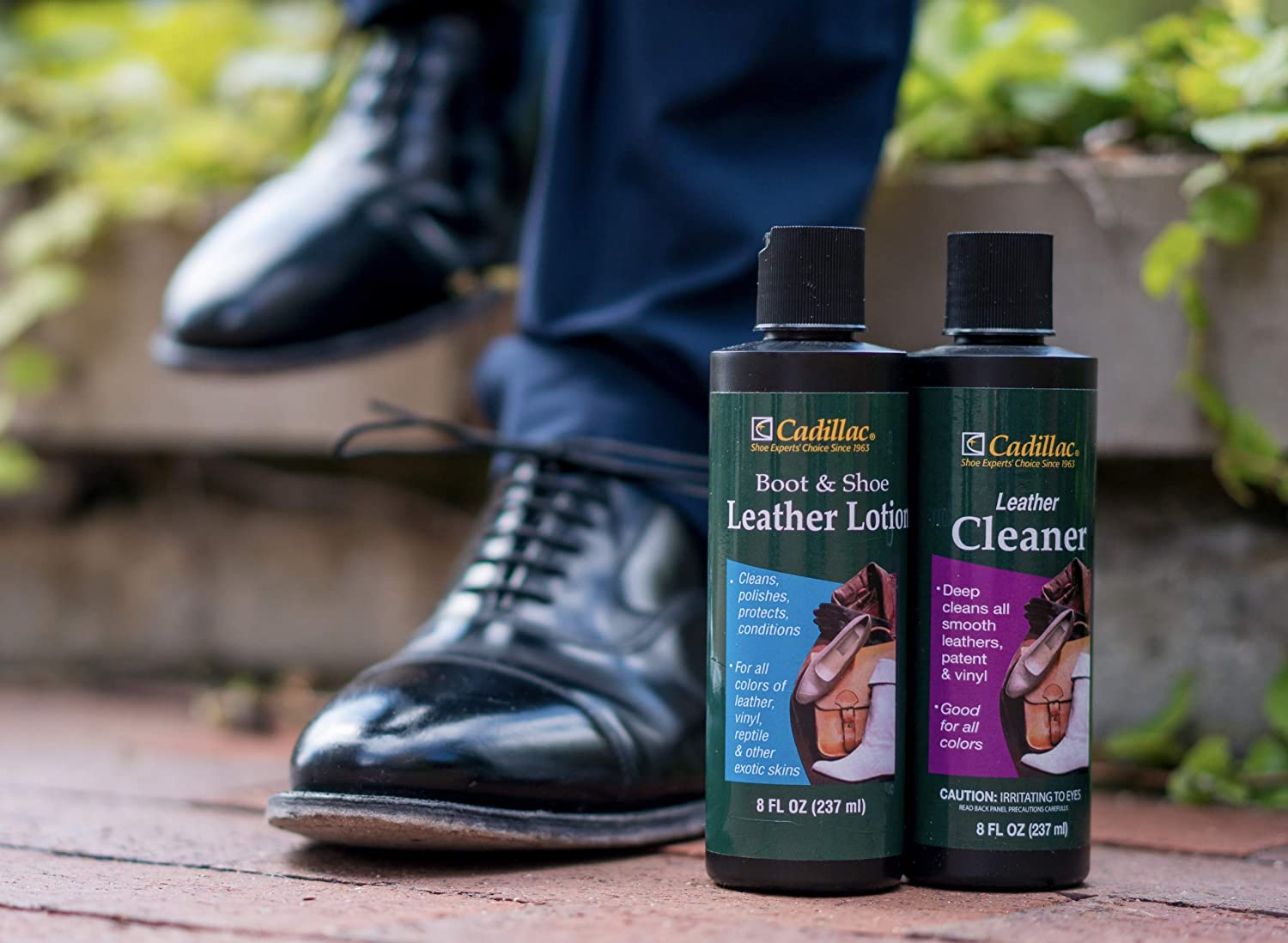 4581e9dd1d3 Cadillac Boot and Shoe Leather Conditioner and Cleaner Lotion 8 oz -  Conditions, Cleans, Polishes &...