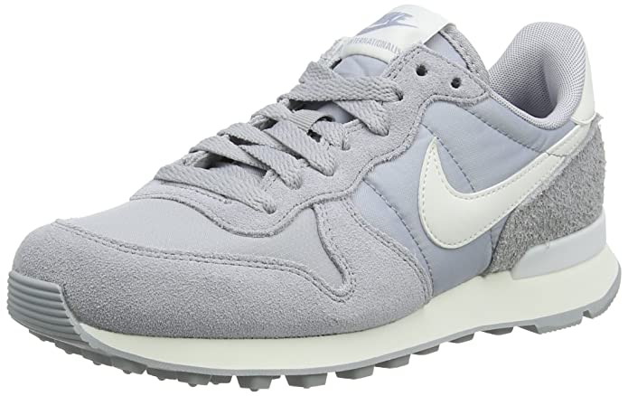 Nike Internationalist Sneakers Damen Grau (Wolf Grey)