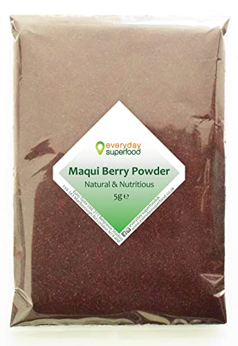 Maqui Berry Powder 5g Natural Pure Maqui Berry Superfood Powder Everyday Superfood