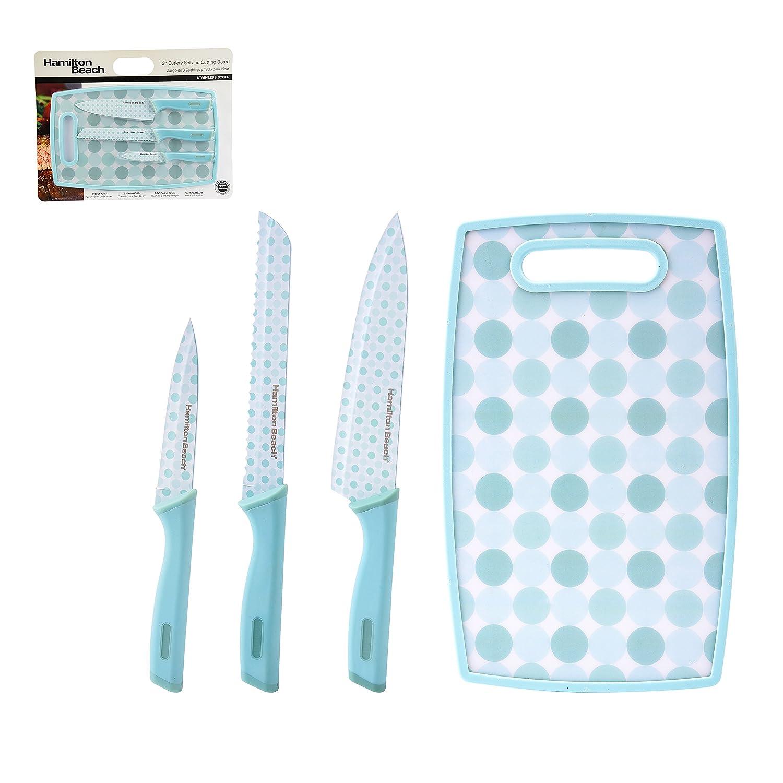 Amazon.com: Hamilton Beach HDG601 4 Piece Cutlery, Knife Set ...