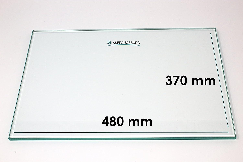 Glasplatte//Glasregal Klarglas 4 mm stark 480 mm x 370 mm alle Ma/ße lieferbar