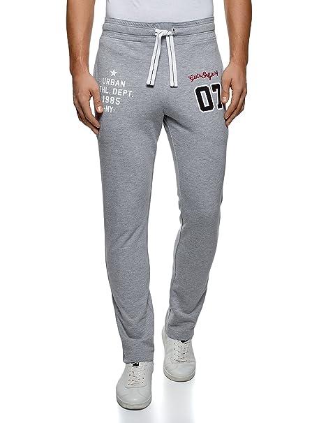 baa1a21cdd oodji Ultra Uomo Pantaloni Sportivi con Laccetti