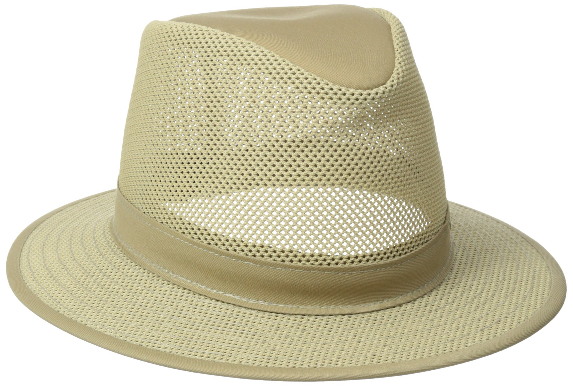 Henschel Safari Packable Breezer Hat, Khaki, Medium