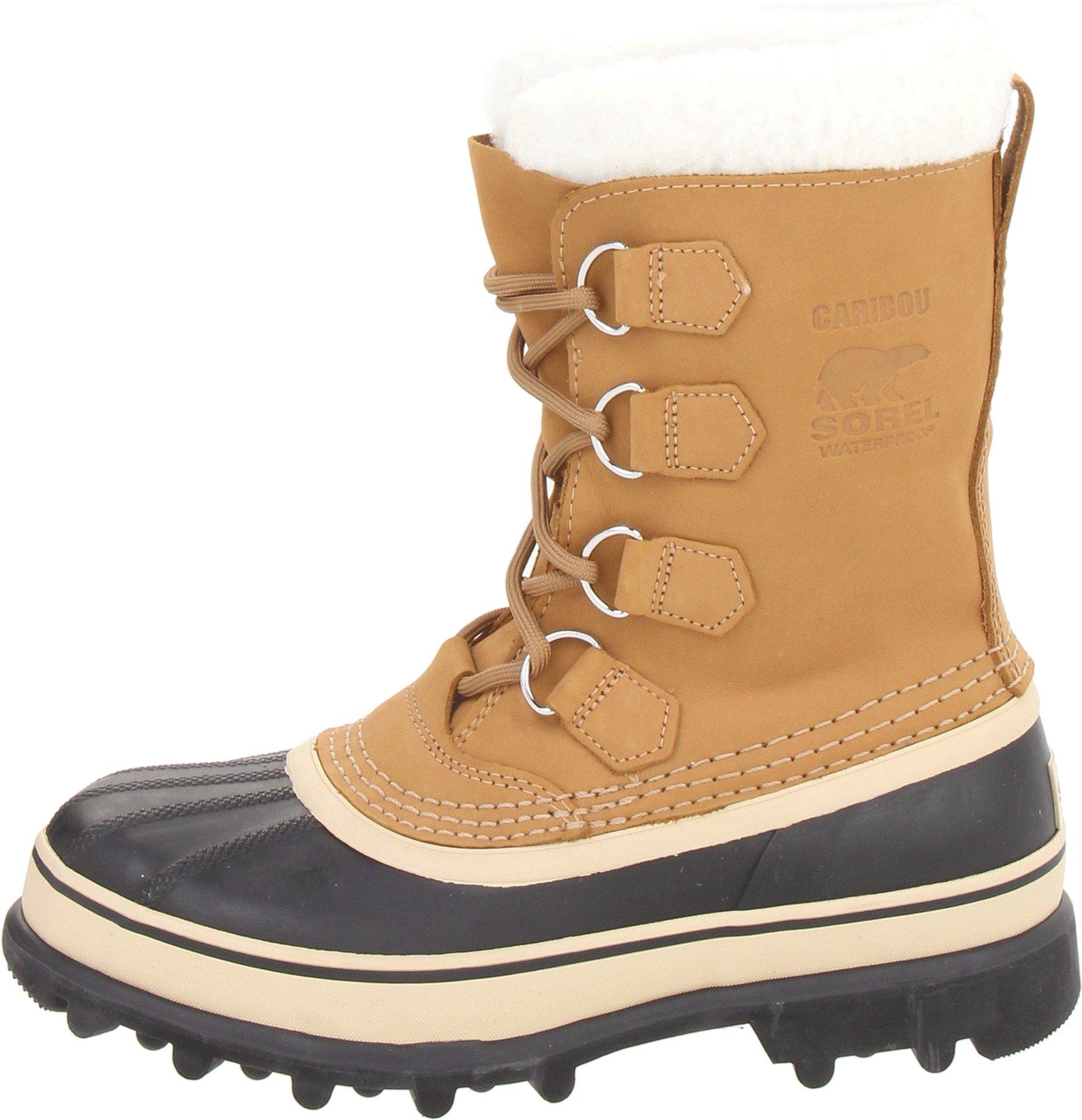 SOREL Women's Caribou NL1005 Boot,Buff,10 M by SOREL (Image #5)