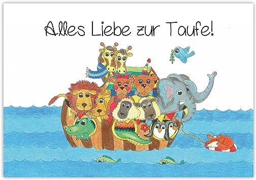 1 Glückwunschkarte Taufe Mädchen Junge 3 D Grußkarte Handmade Karte