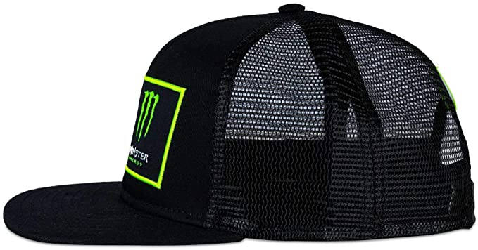 Image Unavailable. Valentino Rossi Monster Energy Grey-Black Dual Trucker  Cap ... 68176881879