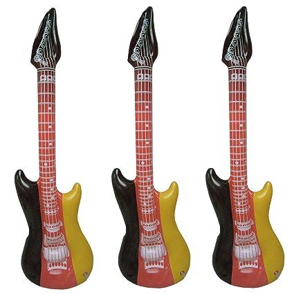 3 aire Guitarra Alemania hinchable Instrumento Musical hippie de ...