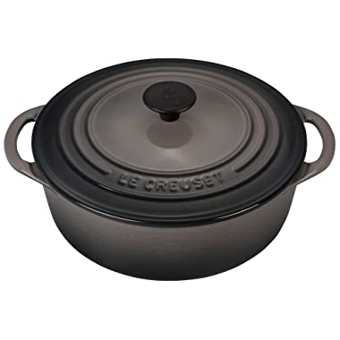 Le Creuset of America Enameled Cast Iron Round 2.75 Quart Dutch Oven, Oyster