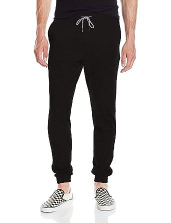 Volcom Men's Single Stone Fleece Pant, Black, Small