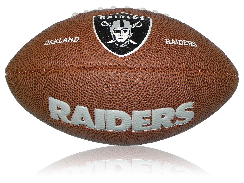 Wilson NFL Mini Oakland Raiders Logo Football