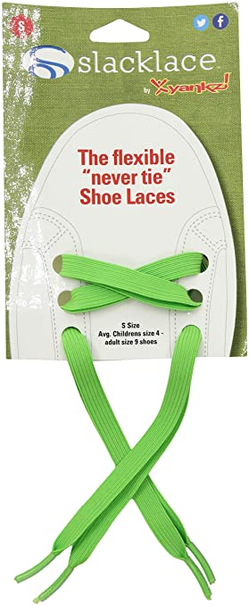 c1be539e1f1f Amazon.com  SlackLace - Flat Elastic Shoe Laces - No Lock