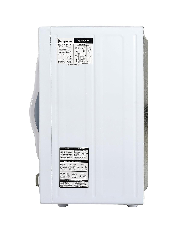 Magic Chef MCPMCSCDRY1S MCSDRY1S 2.6 cu. ft. Laundry Dryer, White on