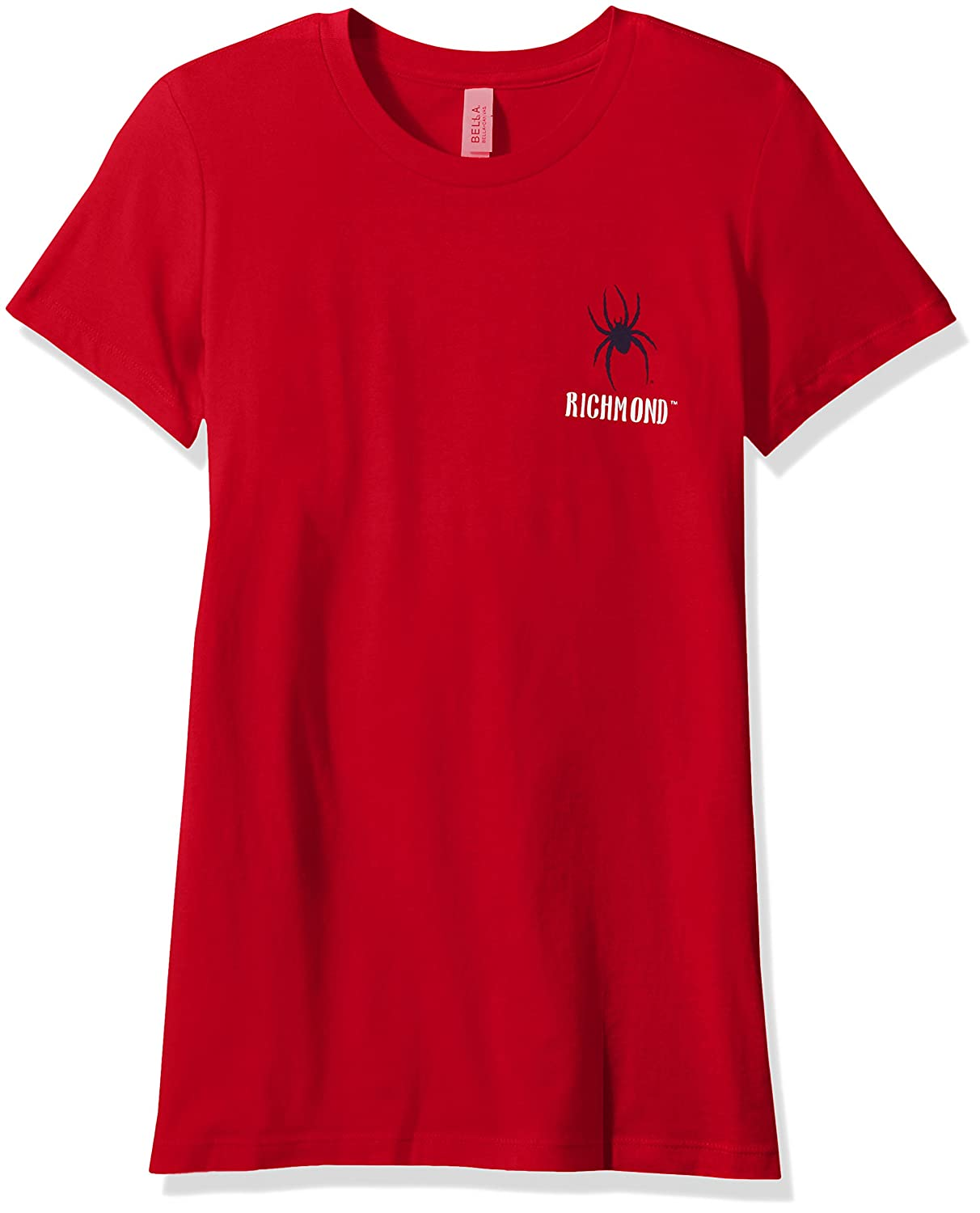 NCAA Richmond Spiders Womens Double Pattern Scroll Favorite Short sleeve T-Shirt Small,Red
