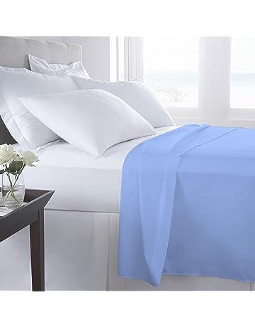 Soporte de cama hojas percal 100% egipcio algodón – 180 hilos ropa de cama,