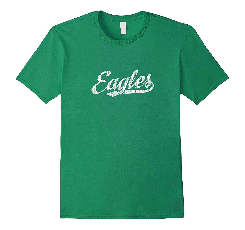 Eagles Mascot T Shirt Vintage Sports Name Tee Design-ah my shirt one gift