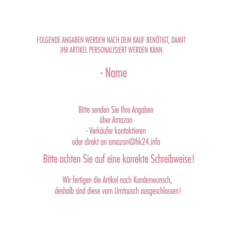 Mein Zwergenland Set 4 Kindergartenrucksack mit Brotdose und Turnbeutel Happy Knirps Mit Name Rehlein - 3-teilig