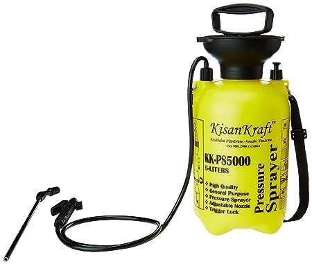 Kisan Kraft KK-PS5000 5-Litre Plastic Manual Sprayer (Color May Vary)