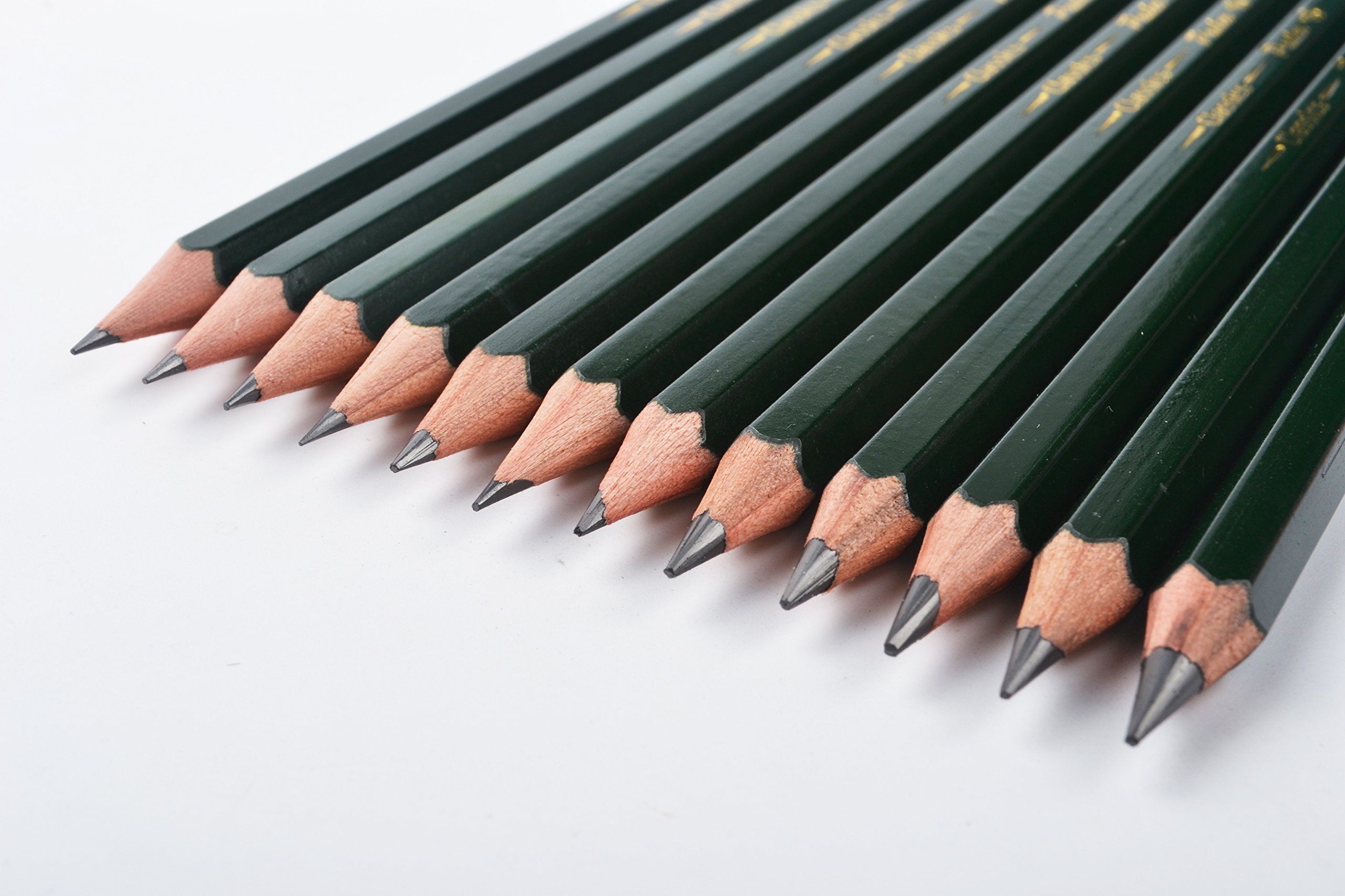 Pasler Professional Graphic Sketching Drawing Pencils 12 Count 6B