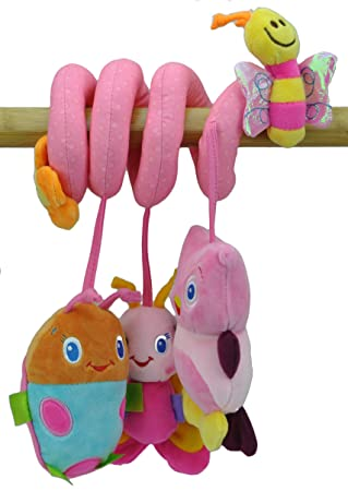 Adorable Butterfly Animals Bell Baby Music Bed Hanging Cribs Toy ...