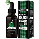 Beard Oil - Mustache Softener Moisturizer - Unscented Leave-in Conditioner - Promotes Growth for Fuller and Thicker Beard - Natural Organic USA-Made Formula - Best Present for Men