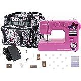 Janome 14412 Pink Hello Kitty Sewing Machine with Bonuspack!