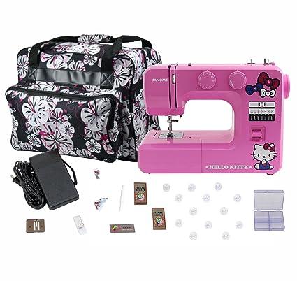 Amazon Janome 40 Pink Hello Kitty Sewing Machine With Bonuspack Awesome Janome Hello Kitty Sewing Machine Instruction Manual