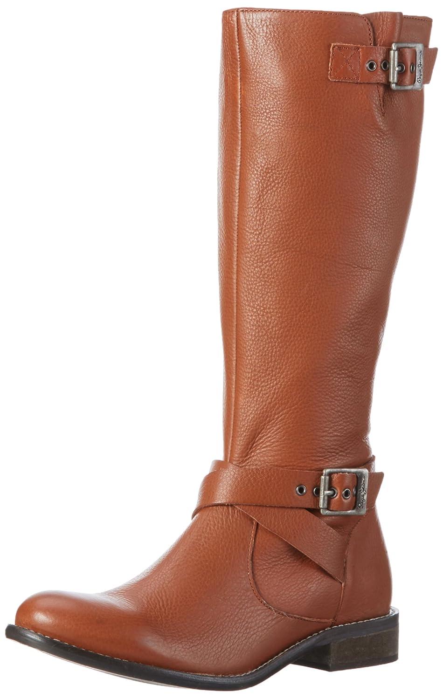 Pepe Jeans Muse Strap, Bottes Hautes FemmeMarronBraun (Nut Brown877), 39 EU