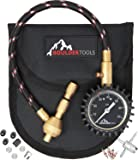 All New Boulder Tools Heavy Duty Rapid Tire Deflator Kit with Valve Caps, Valve Cores & 4-in-1 Tire Valve Tool
