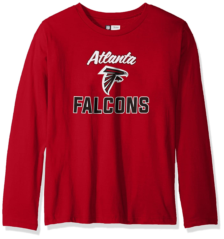 NFL Womens Falcons L S Scoop Neck Tee