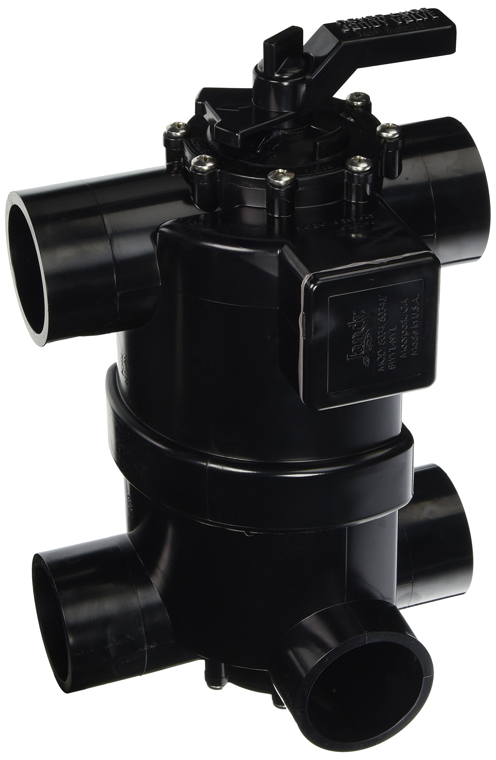 Zodiac 8034 2-in-1 Backwash Valve with Never Lube Technology by Zodiac